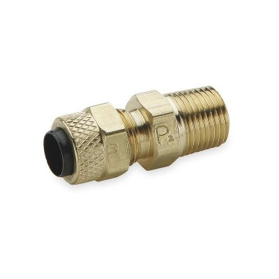 "Poly-Tite Male Connector. 5-Pack Poly-Tite Male Connector. 5-Pack. Tubing Size: ¼"". MNPT 1/8"""