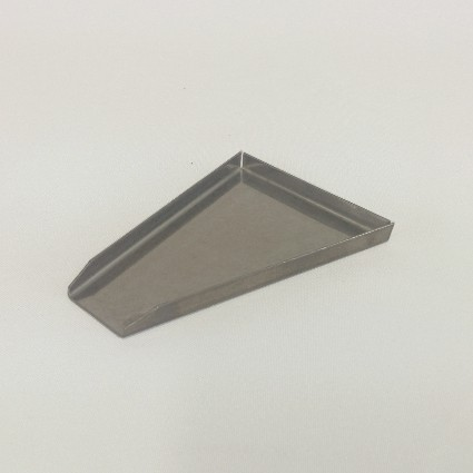 Sample Tray – Wedge Stainless Steel Sample Tray – Wedge Shaped