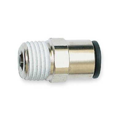 "Q.C. Male Connector. 1/8"" NPT, 1/4"" Tube Quick Connect Male Connector. 1/8"" NPT, 1/4"" Tube"